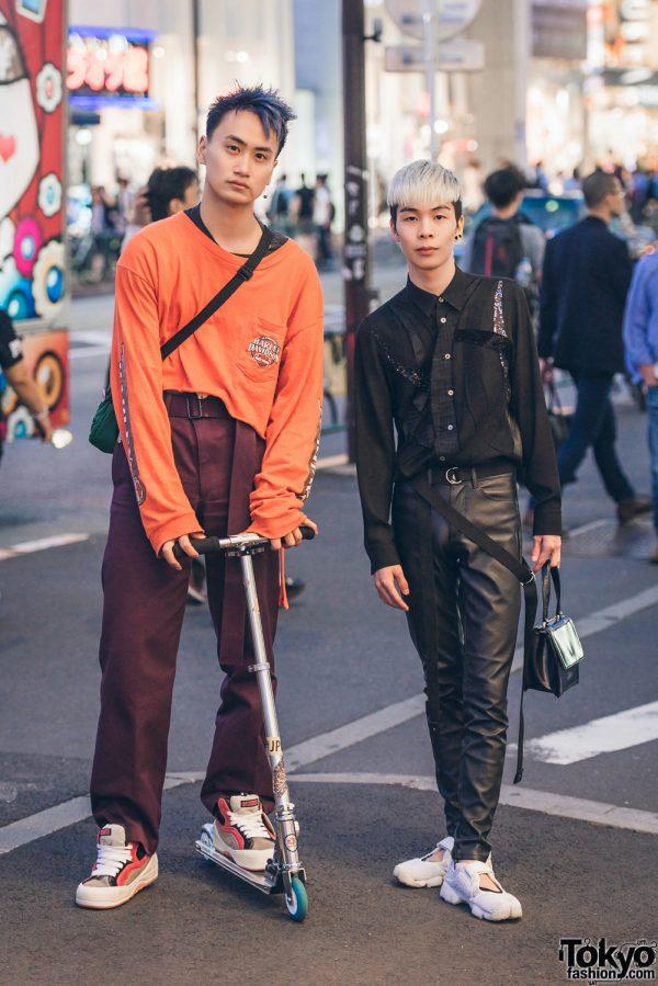 Harajuku Guys Streetwear Fashion w/ Harley Davidson, John Lawrence Sullivan, Nike, Vans & Junya Watanabe