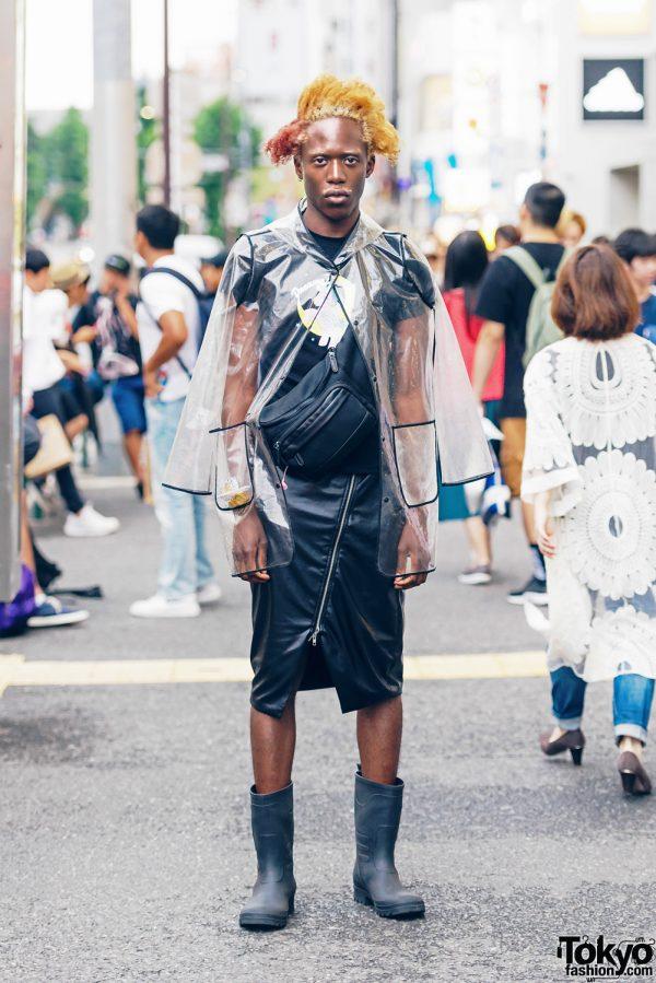 See Through Jacket Streetwear Style in Harajuku w/ My Little Pony, Diesel, Zara, Eagle & Wego