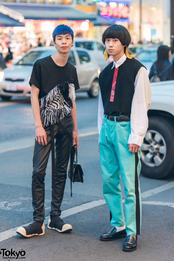 Harajuku Guys in Japanese Streetwear w/ Perverze, John Galliano, Yoshio Kubo, Sokkyo & Comme des Garcons