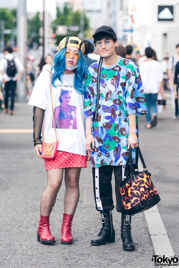 Eclectic Harajuku Street Fashion w/ Freak City, Gwen Stefani x Roukeys, Moschino, Funktique, M.Y.O.B., Pinnap & Current Mood