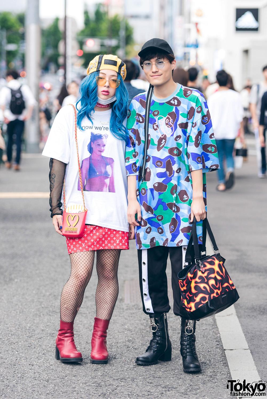 Eclectic Harajuku Street Fashion W/ Freak City, Gwen