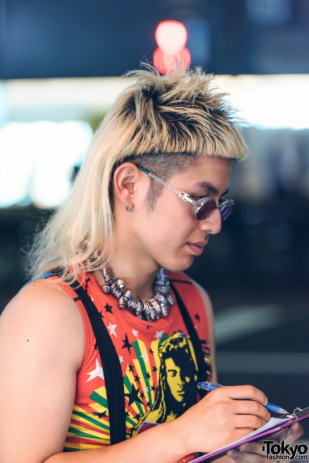Mullet and japan fashion