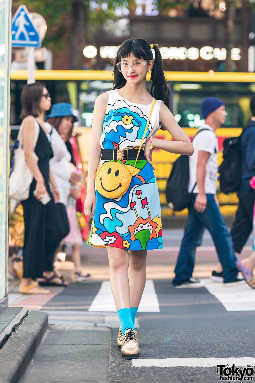Harajuku Actress Colorful Sporty Chic Fashion w/ Ralph