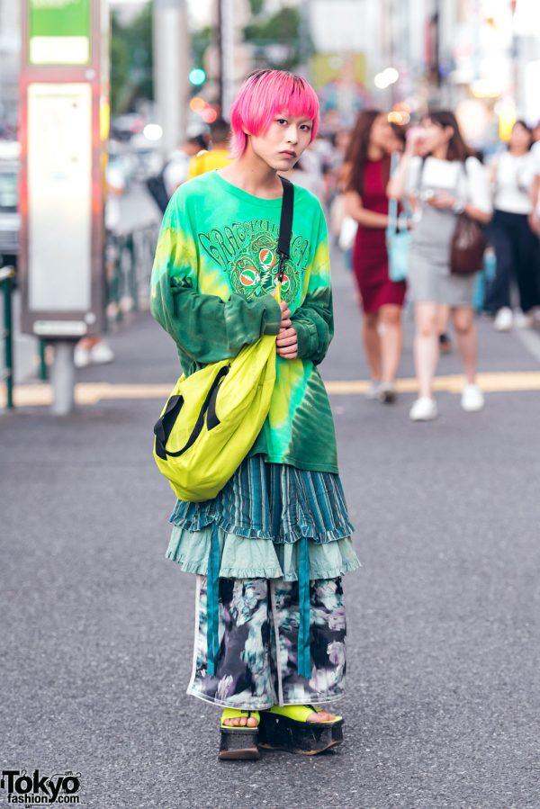 Harajuku Mens Streetwear w/ Balmung, Kinji Harajuku, Puma & Dog Harajuku Fashion
