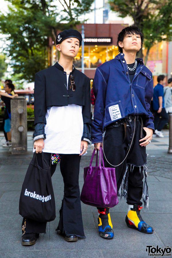 Harajuku Guys Streetwear w/ A Moment of Youth, Midnight Studios, Ambush, Vetements, Christopher Shannon, Alyx & Maison Martin Margiela