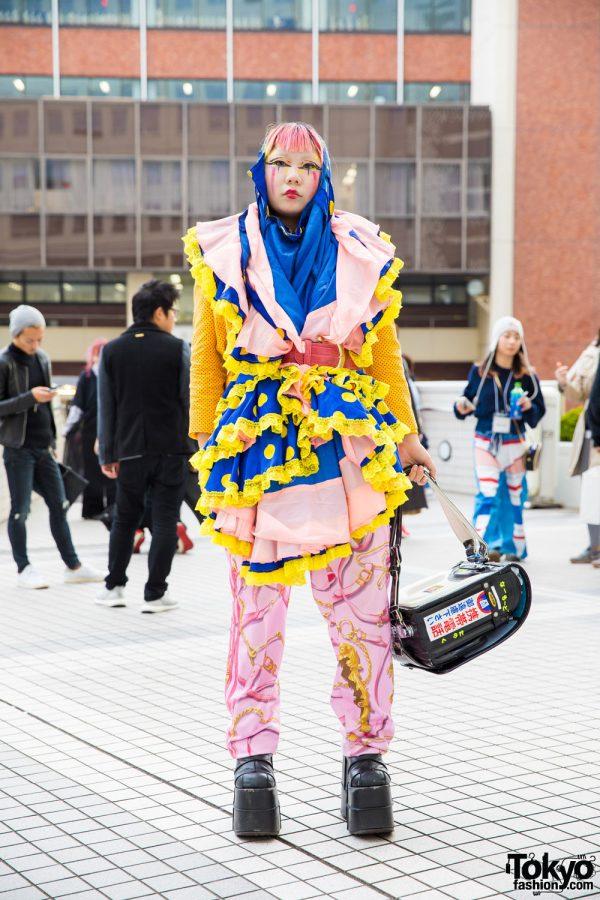 Colorful Remake Tokyo Street Style w/ Jeremy Scott, Demonia & Kinji Harajuku