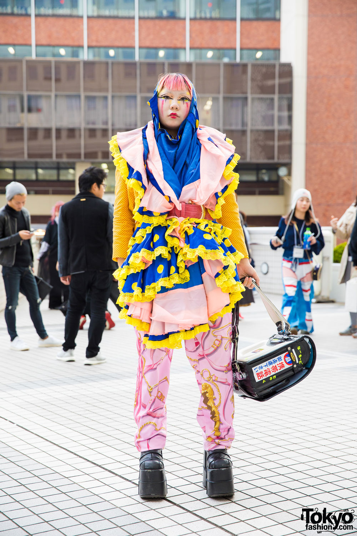 Colorful Remake Tokyo Street Style W/ Jeremy Scott
