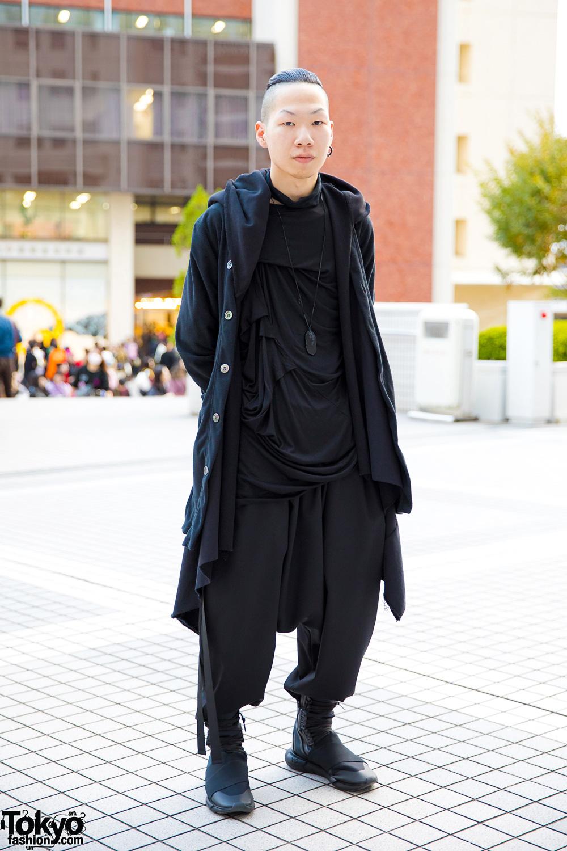 Dark Minimalist Anese Street Style W Comme Des Garcons Homme Plus Y 3 Handmade Items