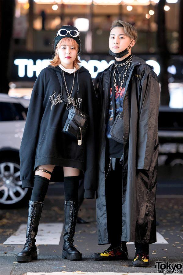 Harajuku Streetwear Looks w/ Vetememes Oversized Hoodie & Vetememes Raincoat, Open The Door & Gucci
