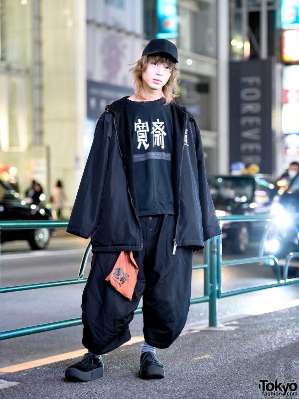 Vintage Kansai Man by Kansai Yamamoto & Christopher Nemeth Street Style in Harajuku