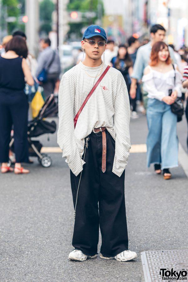 Oversized Fashion in Harajuku w/ Zero, Balenciaga, Nike & Faith Tokyo