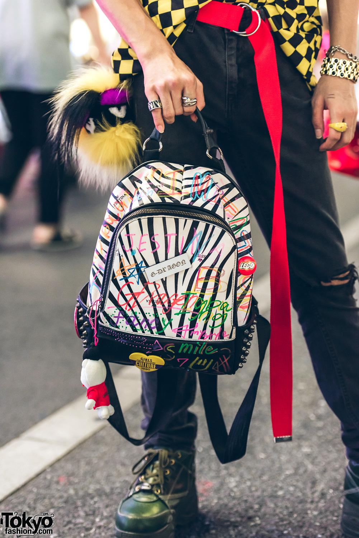 Colorful Fun Harajuku Street Styles W The Smurfs