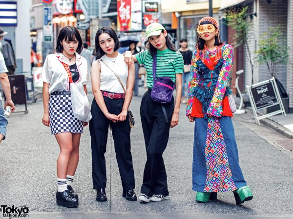 Harajuku Girls in Trendy Street Styles w/ Bubbles, Oh Pearl, Faith Tokyo, Funktique & Kiloshop
