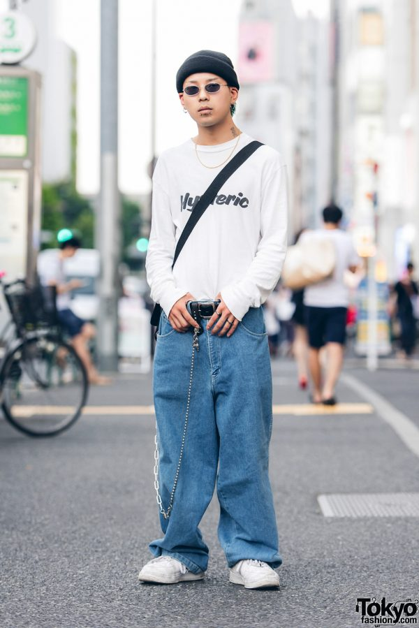 Harajuku Guy Streetwear w/ Dog Town, Nike, Palace & Faith Tokyo