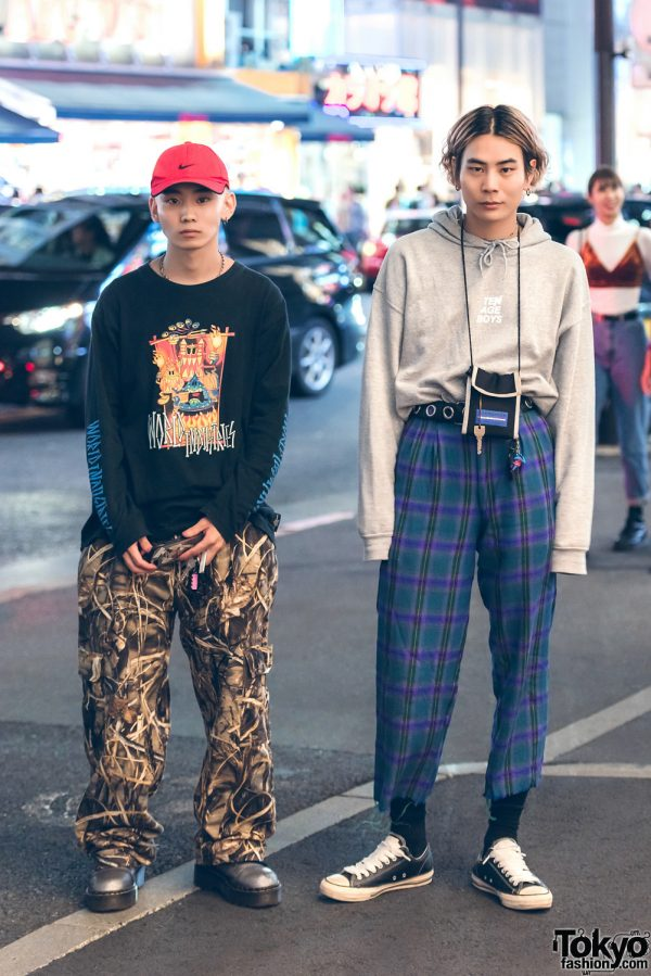 Harajuku Mens Streetwear Styles w/ Ader Error, Dr. Martens, Nike, Vivienne Westwood, Converse, UNIF & Ten Age Boys