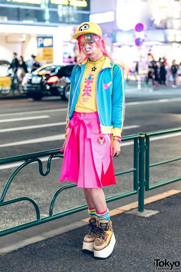 Kawaii Harajuku Street Style w/ Takuya Angel, 6%DOKIDOKI, New Era & Buffalo