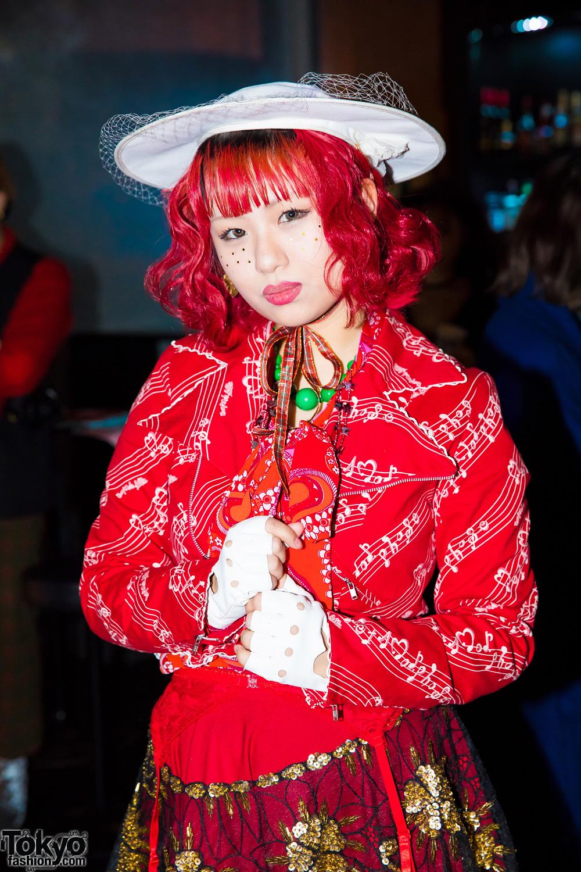 Tokyo Fashion Snaps At Fanatic Magazine Party Winter 2017