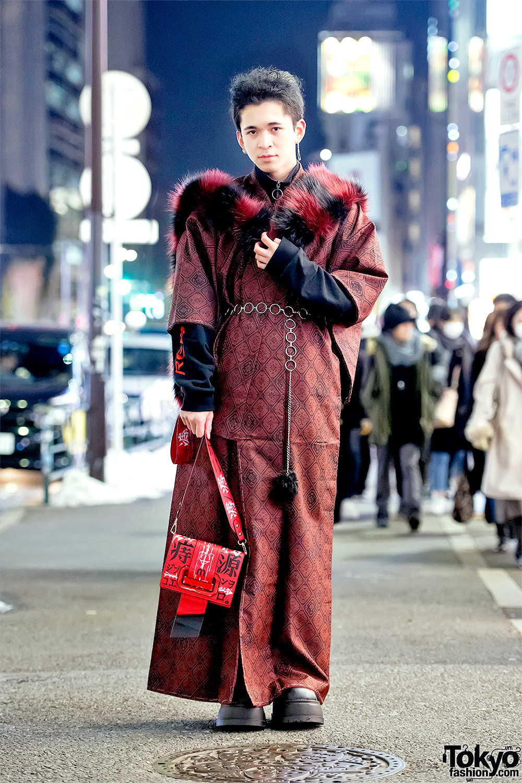 Harry Potter Inspired All Black Halloween Fashion In Harajuku