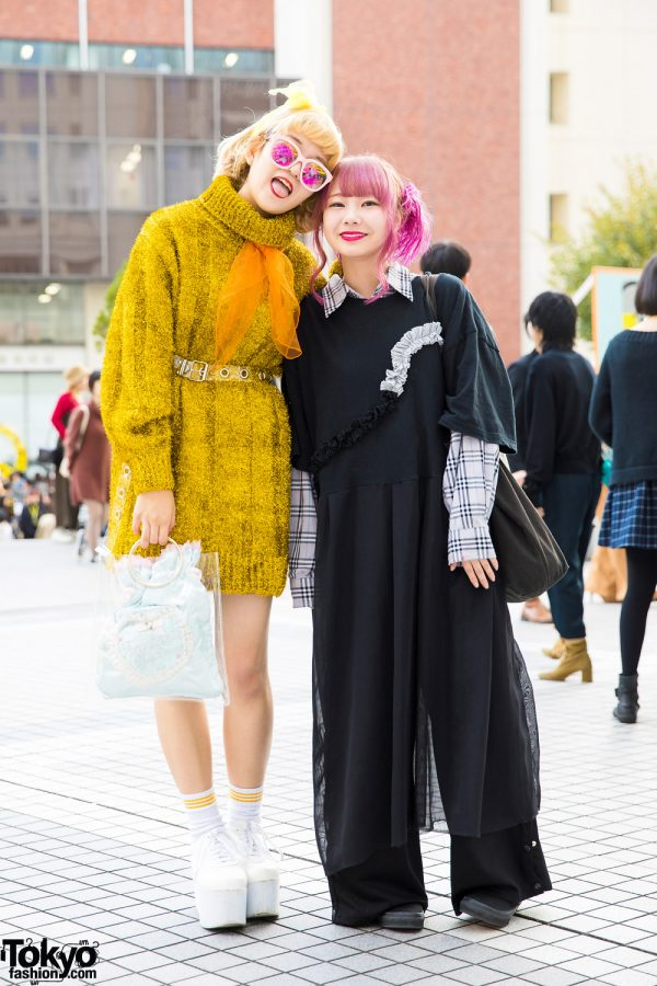 Gold & Black Tokyo Street Styles w/ Punyus, MYOB, Oh Pearl, Kilo Shop, Spinns, Amatunal & WC