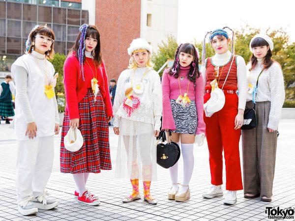 Vintage Knitwear Japanese Street Styles w/ New York Joe, Tokyo Bopper, Olive des Olive, Poco A Poco, One Spo, Vivienne Westwood, Lychee & Fi.n.t