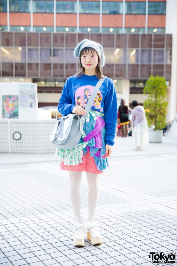 Pink Hair & Cute Japanese Street Fashion w/ Jenny Fax, Tokyo Bopper & Kaori No Mori