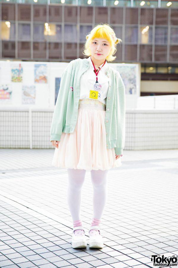 Yellow Hair & Pastel Japanese Street Fashion w/ Keisuke Kanda, Tokyo Bopper, Hikari, Kimochi, Mikansei & Tabun Zettai