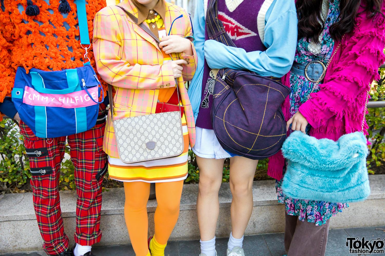 colorful group tokyo street fashion w   dog harajuku  gucci  tokyo bopper  kinji  christopher