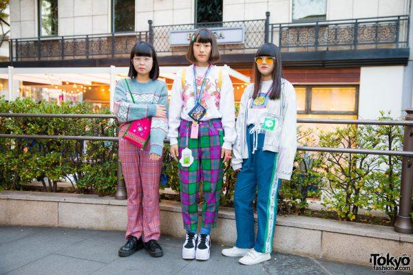 Harajuku Girls Street Fashion w/ Chicago, WEGO, Spinns, WC, Kinji, Laforet, 6%DokiDoki, Docomo, Aeon, Forever21, Fresh Anti Youth, Aymmy & GU