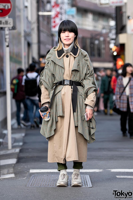 Japanese Street Style W Kimono Hazuki Kimono