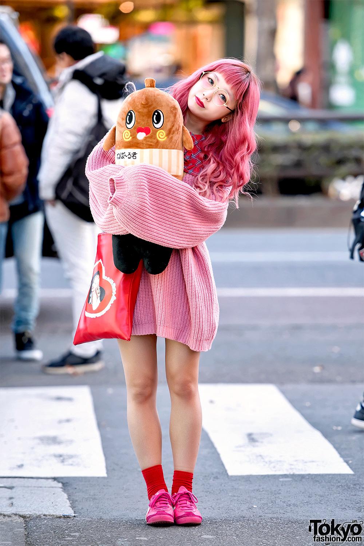 Hikapu In Kawaii Pink Harajuku Street Style W Nebaarukun