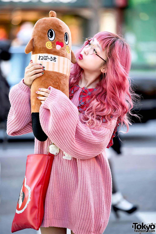 Hikapu in Kawaii Pink Harajuku Street Style w/ Nebaarukun ...