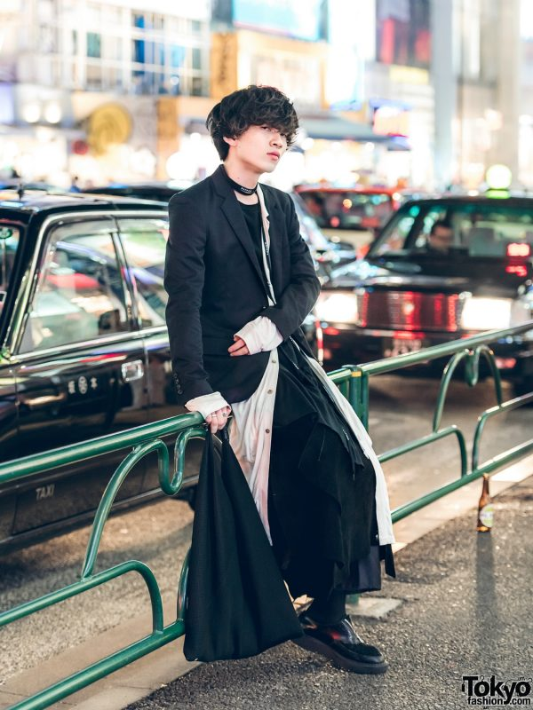 Monochromatic Street Style w/ John Lawrence Sullivan, Bed J.W. Ford, MM6 Maison Martin Margiela & Foot the Coacher