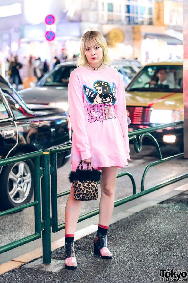Chic Harajuku Street Style w/ Ashley Williams, The Virgins & Fleamadonna