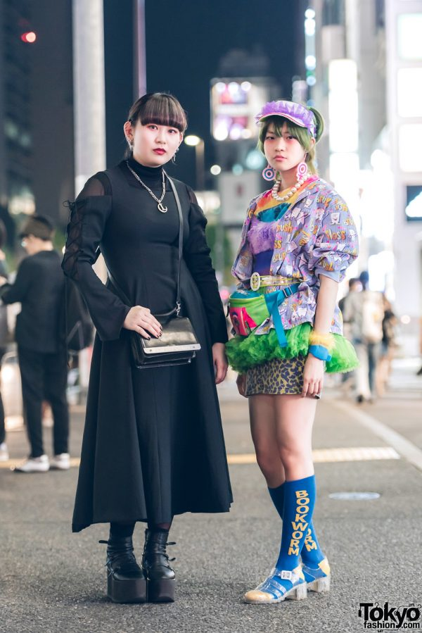Gothic and Colorful Street Styles w/ Atelier BOZ, Jean Paul Gaultier, Tokyo Bopper, Luna Mattino, San To Nibun No Ichi, Kinji & Yoshida Beads