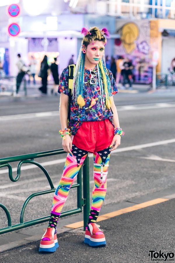 Kawaii Harajuku Street Style w/ 6%DOKIDOKI