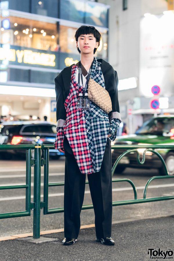 Quirky Dapper Fashion w/ Remake Suit, Gucci Bag & Vivienne Westwood Shoes