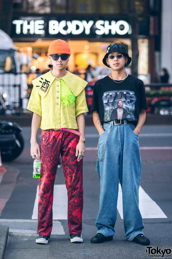Funky Street Styles in Harajuku w/ Dresscamp, Converse, Tokyo Human Experiments, Venturer, Dogtown & Nike