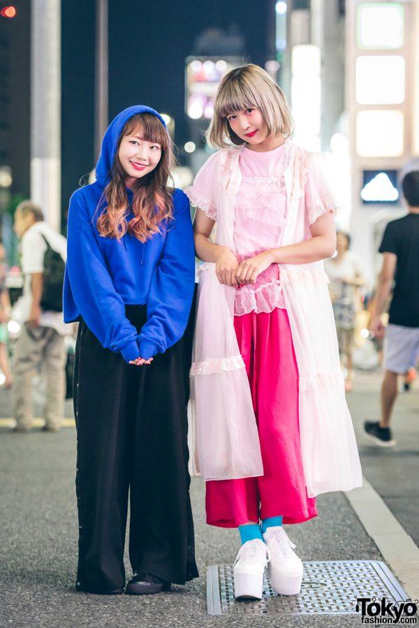 Harajuku Girls in Minimalist Street Styles w/ WEGO, Kinji, WC, Punyus & MYOB