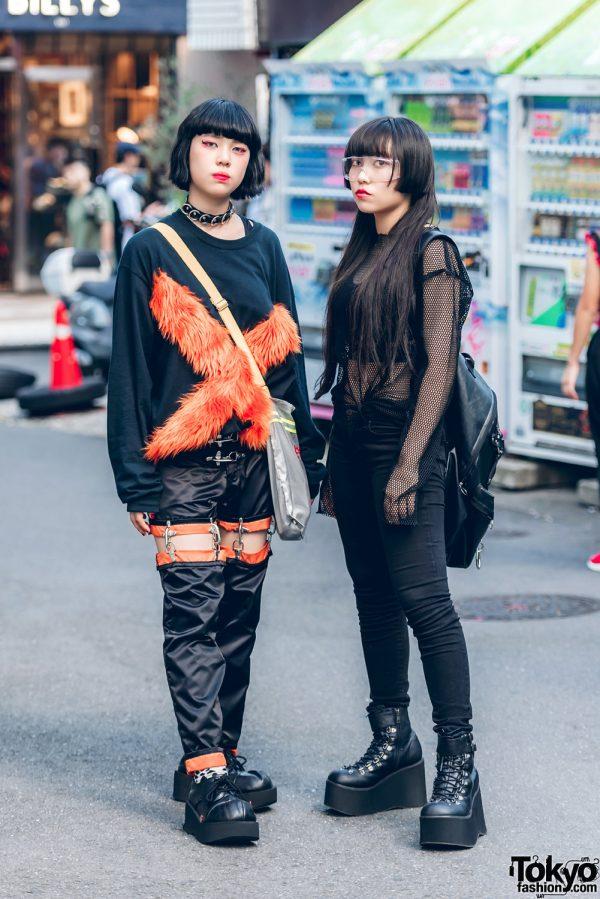 Dark Streetwear Styles in Harajuku w/ M.Y.O.B., Kobinai, Demonia, Emoda & Nyulycadelic