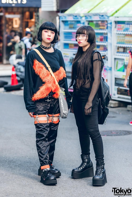 Dark Streetwear Styles In Harajuku W/ M.Y.O.B., Kobinai