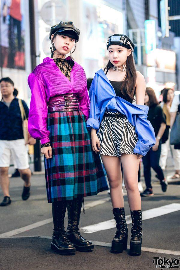 Harajuku Girls in Bold Streetwear Styles w/ Nadia, Demonia, H&M, Kinji, Chicago, MYOB & Chicago