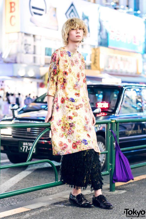 Japanese Street Fashion w/ Comme des Garcons, Who What & Takeo Kikuchi Wingtip Shoes