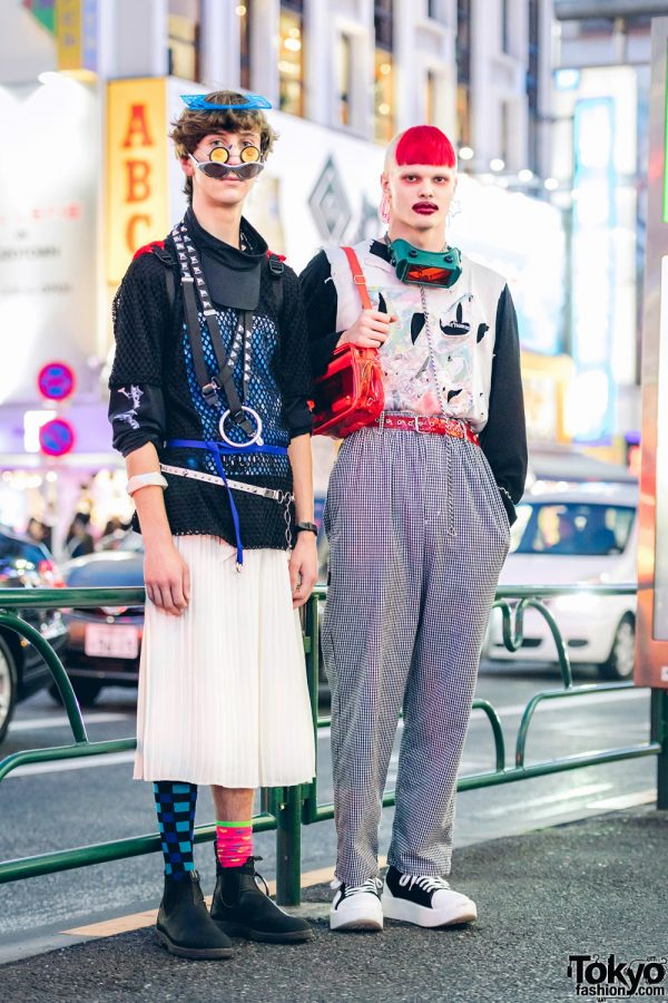 Avant-Garde Street Fashion in Harajuku w/ Ancient Future, P3rle, More Than Dope, Tokyo Bopper & WEGO