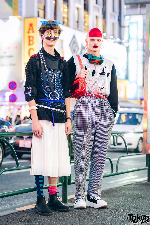 ba6ab308a Avant-Garde Street Fashion in Harajuku w/ Ancient Future, P3rle, More Than  Dope, Tokyo Bopper & WEGO