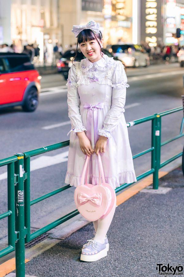Moshi Moshi Box Staff in Sweet Lolita Fashion w/ Angelic Pretty, To Alice, Bubbles & Panama Boy
