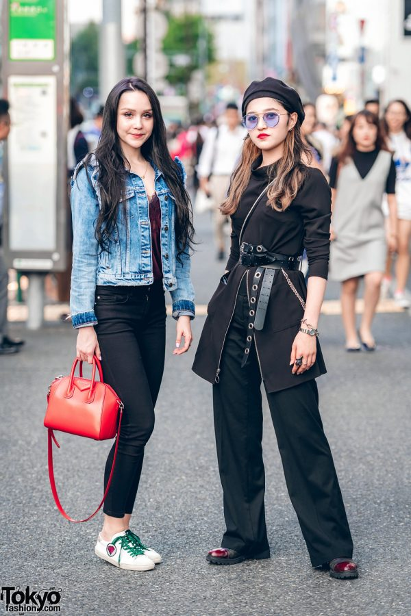 Denim & All Black Streetwear w/ Vintage & Designer Fashion