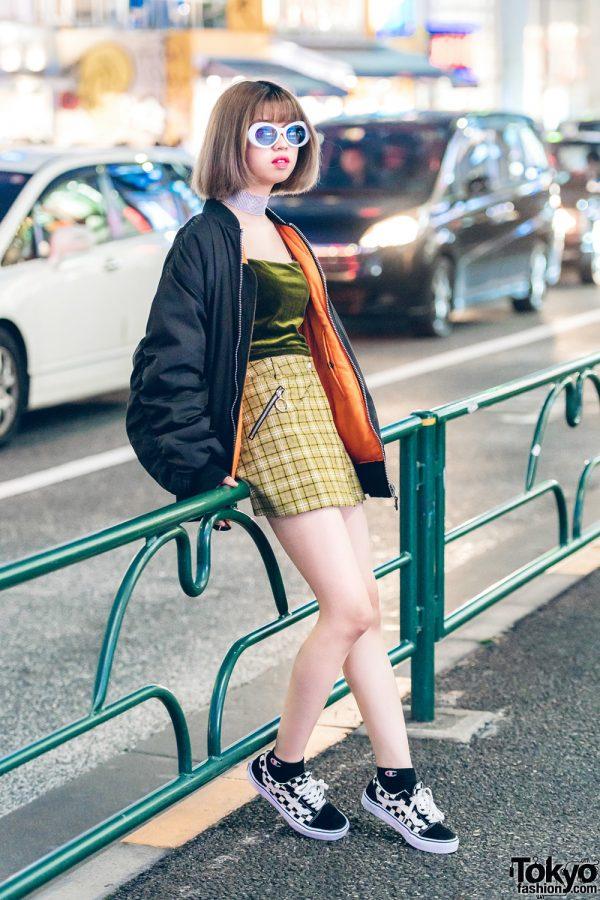Sporty Chic Harajuku Streetwear w/ UNIF & Vans