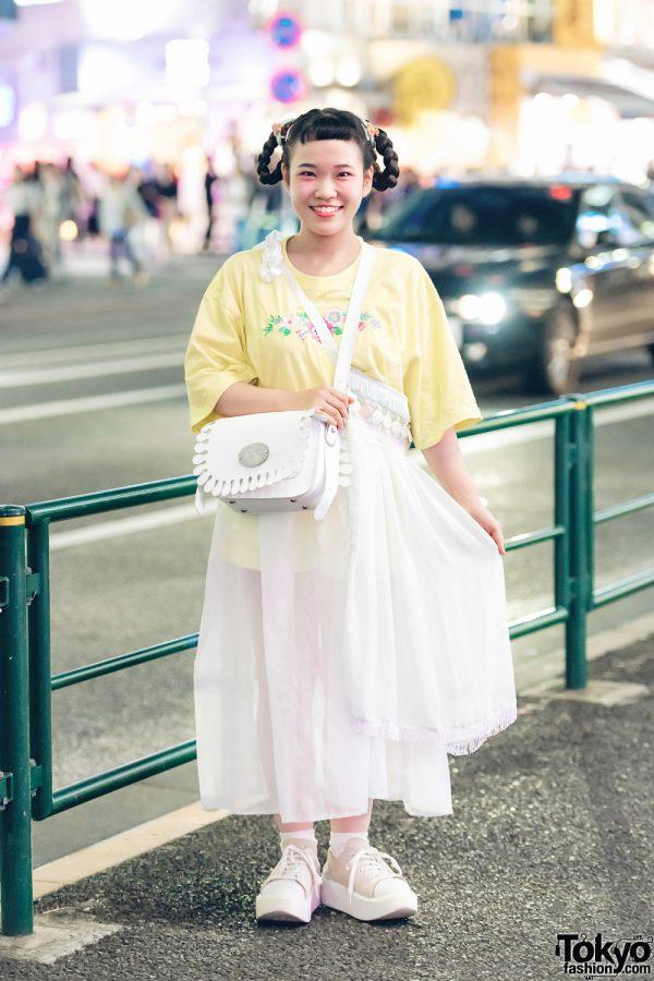 Harajuku Girl in Kawaii Street Fashion w/ Amatunal, Keisuke Kanda & Tokyo Bopper