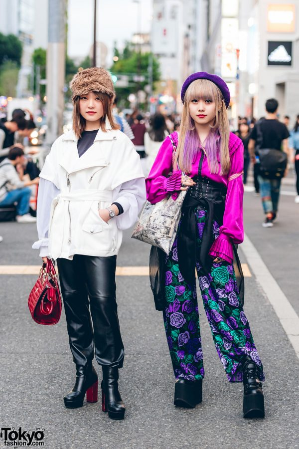 Harajuku Girls in Stylish Street Fashion w/ Paradox, Kinji, Forever21, Vivienne Westood, Alice And The Pirates, Yosuke, Scot.Inc & Faith Tokyo