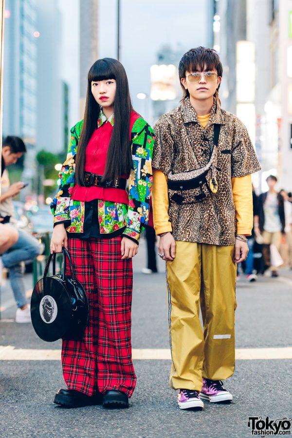 Harajuku Brother & Sister Streetwear Styles w/ Kinji, Yosuke, Bunkaya Zakkaten, Peppermint, Hysteric Glamour, Champion & Converse